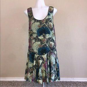 Free People Colorful Floral Sleeveless Boho Dress